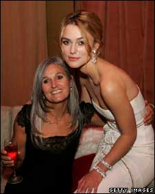Sharman Macdonald with her daughter Keira Knightley