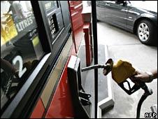 Petrol pump in Kuala Lumpur, Malaysia