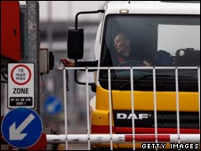Tanker driver working for Shell returns to work