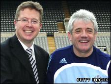 Chris Mort and Kevin Keegan