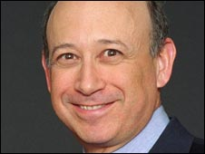Goldman CEO Lloyd Blankfein