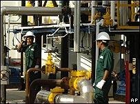 Fábrica de biodiesel en Lima.
