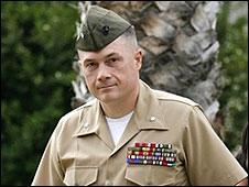 Lt Col Jeffrey Chessani (Picture courtesy of Thomas More Law Center)