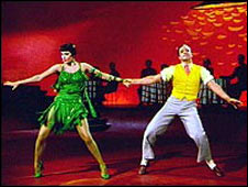 Cyd Charisse and Gene Kelly