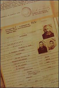 Copia de uno de los certificados de nacionalidad salvadore�a.