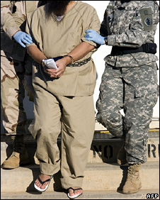 Detainee at Guantanamo (2006)