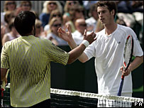 Janko Tipsarevic and Andy Murray