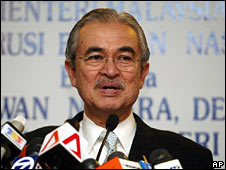 Malaysian Prime Minister Abdullah Badawi (file image)