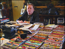 Larry Flynt, publisher of Hustler magazine
