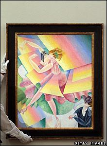 Gino Severini's Danseuse, 1915