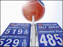 اسعار وقود السيارات في الولايات المتحدة في الثالث عشر من الشهر الجاري