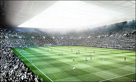 Portsmouth's planned new stadium