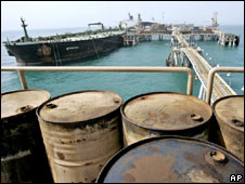 Iraq oil barrels