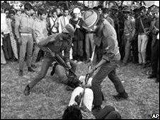 Violence in 1971 Bangladesh war of independence