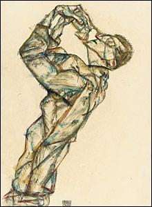 Schiele's Pierrot (Selbstbildnis)