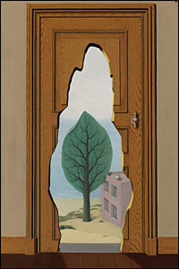 La Perspective amoureuse by Rene Magritte