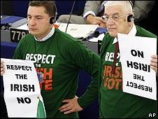 Euro sceptic MEPs
