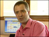 Neil Durrant from cashback website GreasyPalm