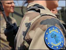 Eufor soldiers