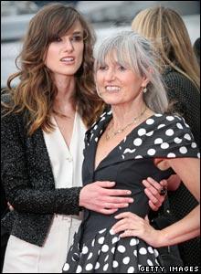 Keira Knightley and Sharman MacDonald