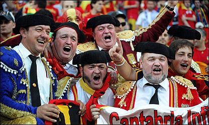 El festejo de los aficionados españoles