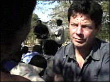 Ian Pannell reporting from Zimbabwe