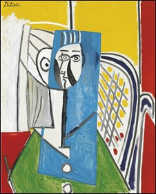 Picasso painting 'Sylvette'
