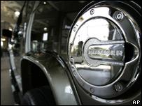 Hummer fuel cap