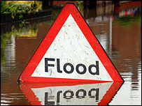 Flood sign c/o PA