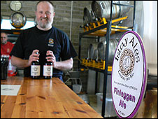 Paul hathaway of the Islay brewery