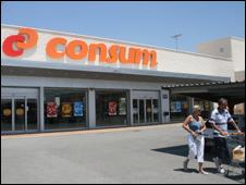 A Spanish supermarket