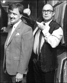 Geoff Souster and Eric Morecambe