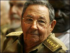 Cuba's President Raul Castro pictured 13 June
