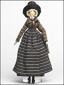 A doll given to a young Princess Victoria (picture: The Royal Collection)