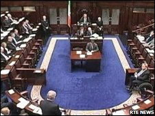 Dail photo courtesy of RTE News