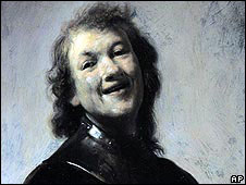 """Rembrandt Laughing"""