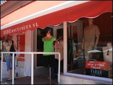 The shop where Astrella works