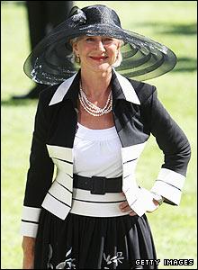 Dame Helen Mirren poses for a photograph