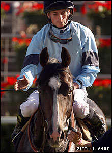 Ryan Moore pictured on board Colony