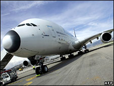 Aeroplane. Image: AFP/Getty