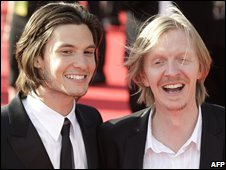 Ben Barnes, who plays Prince Caspian, and director Andrew Adamson