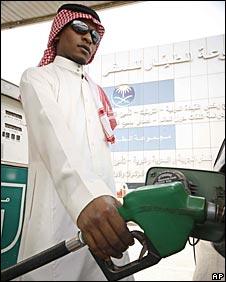 Saudi motorist