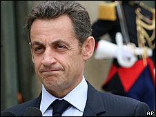 Nicolas Sarkozy, Paris, 19 June 2008