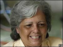 Opositora cubana Marta Beatriz Roque