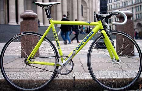 Steve Harper's bike
