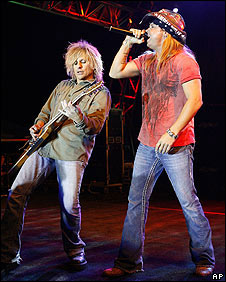 CC DeVille and Bret Michaels