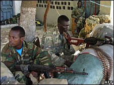 Ethiopian soldiers in Mogadishu, 17 June 2008