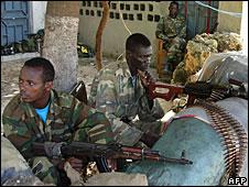 Ethiopian soldiers in Mogadishu, 17 June 2008