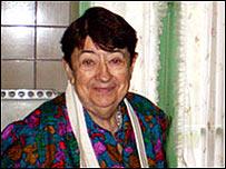 Madame Bonne en su cocina