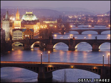 Prague city centre (file image)